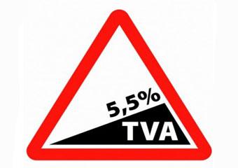 La TVA réduite (5,5% et 10%)